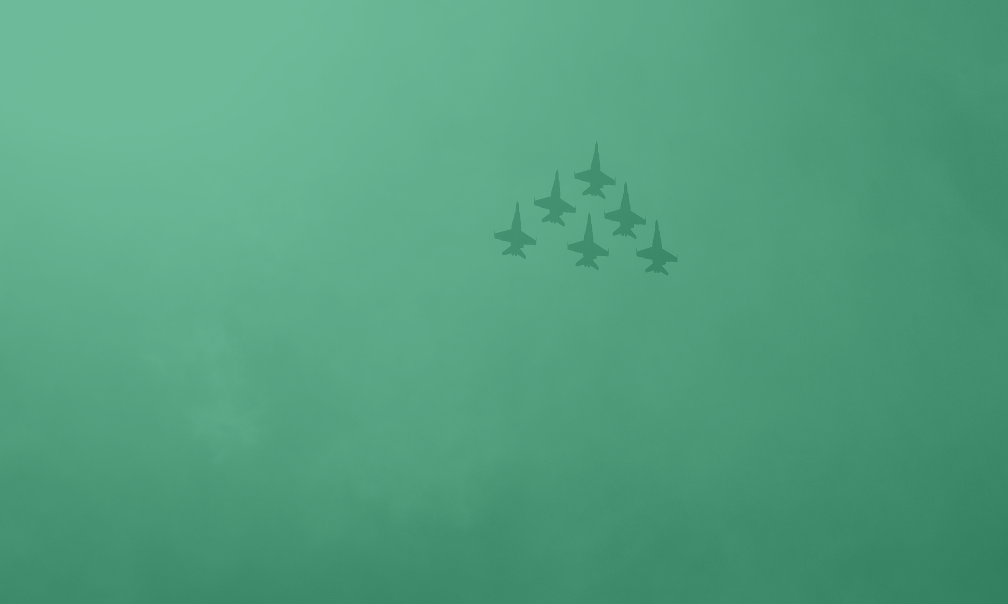 military jets flying in formation